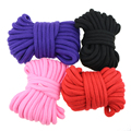 10Meters Long Thick Strong Rope Bondage BDSM Rope Fetish SM Kinky Adult Game Sex Toy Soft Cotton Harness Adult Flirting