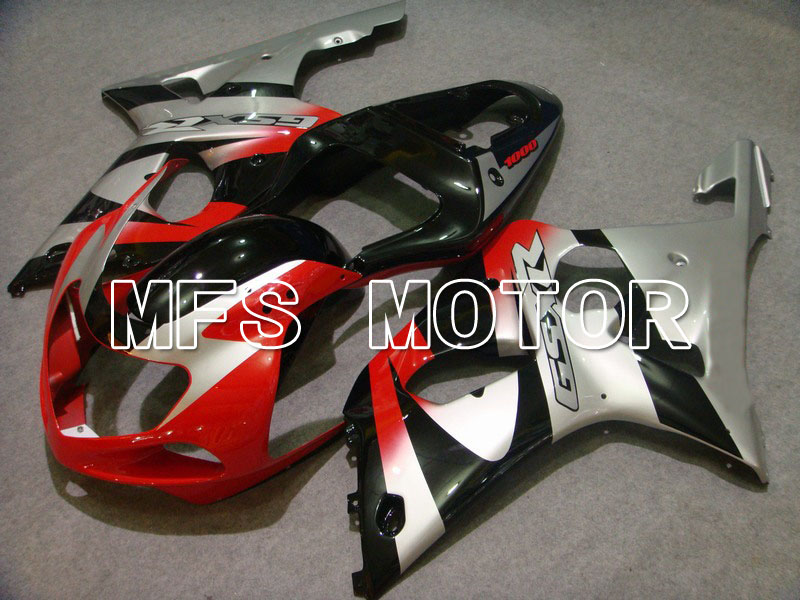 Для Suzuki GSXR 1000 2000 2001 2002 00 01 02 АБС обтекатель комплекты впрыск системы GSX 1000р 00 01 02 2000-2002 - другие - Красный/серебристый/черный