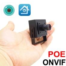 Mini Macchina Fotografica del Ip di Poe 5mp 1080p 2.8 millimetri di Larghezza 720P 960P HD Cctv di Sicurezza Cam Video di Sorveglianza XMEye Onvif IPCam A Raggi Infrarossi Macchina Fotografica A Casa