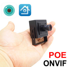 Mini Poe Ip Camera 5mp 1080p 2.8mm Breed 720P 960P HD Cctv Cam Video Surveillance XMEye Onvif IPCam Infrarood Thuis Camera(China)