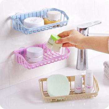 Wall Hanging Bathroom Organizer Of PP Material For Cosmetic And Kitchen Use