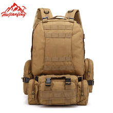 Multifunction Camouflage Men Climbing Bag Large Capacity Men&Women 600D Oxford Waterproof Backpack Male Sports Tactical