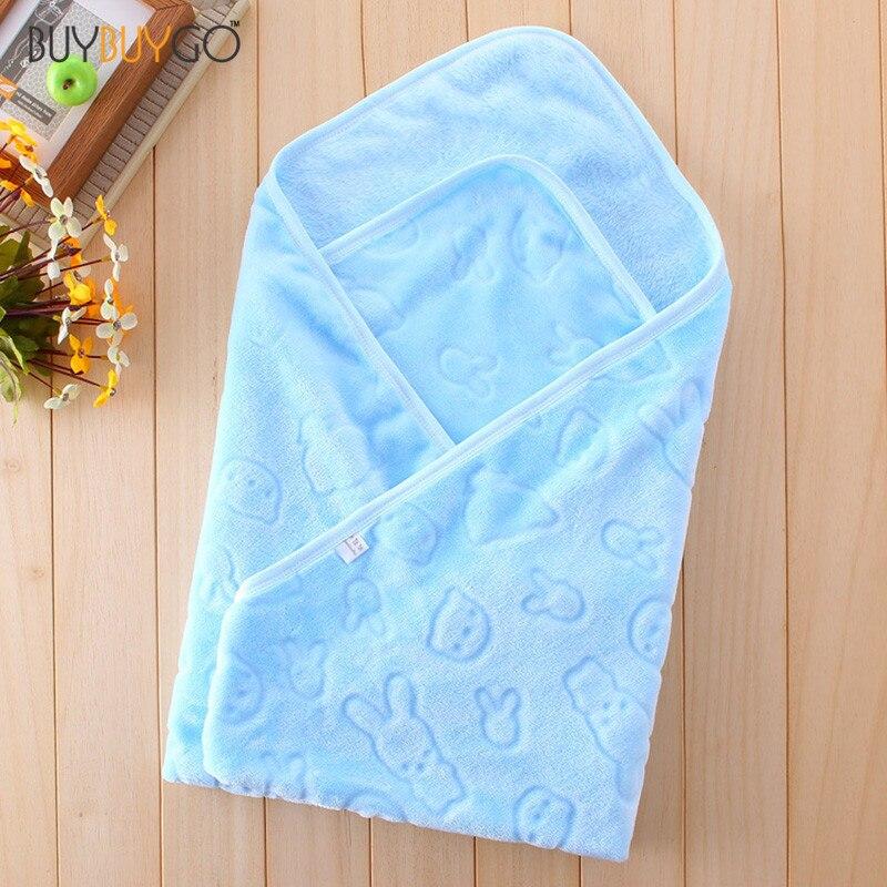 """SALE Baby Kids Toddler Newborn Soft Blanket Swaddle <font><b>Sleeping</b></font> Bag Flannel Sleep Sack Stroller Wrap Infant Bedding (33.2\""""*33.2\"""")"""