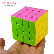 2 Типа 4x4x4 Красочные Magic Cube Скорость Cubo Классическая Головоломка Куб Высокое Качество Логические Дети развивающие Игрушки Прохладный Подарки