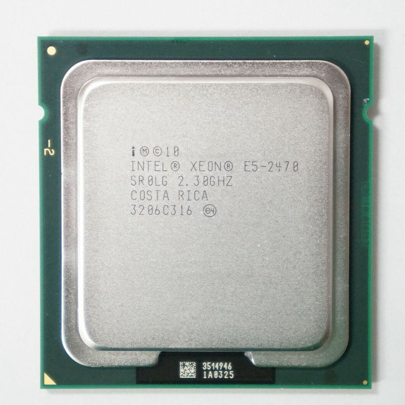 Intel Xeon E5 2470 E5 2470 2.3 GHz Eight Core Sixteen Thread CPU 20M 95W LGA 1356 Processor-in CPUs from Computer & Office