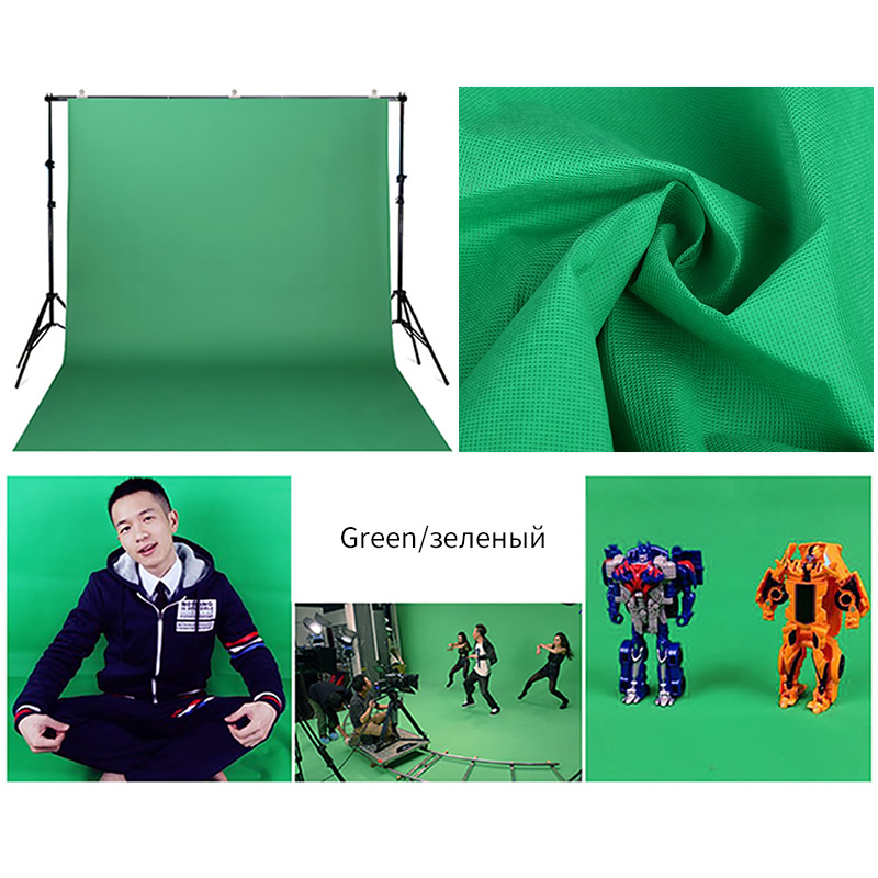 10x10ft Photography Studio Non-woven cloth fabric Backdrop Background Chromakey screen green Fabric background 3Colors optional send rolled enchanted forest backdrop secret garden lantern fairy tale printed fabric photography background s0038
