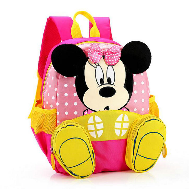Cute Cartoon Backpack Students School Bags Boys Girls Daily Backpacks Children Bag Kids Toddler Schoolbags Baby Best Gift цена