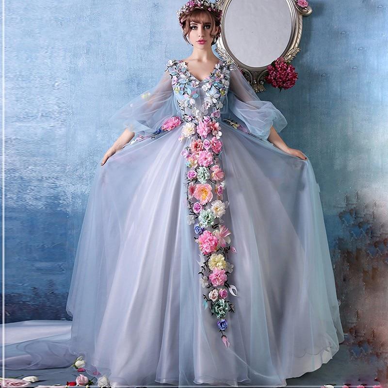 Evening Gown Wedding: Aliexpress.com : Buy Vintage Charming Wedding Dress 2017 V