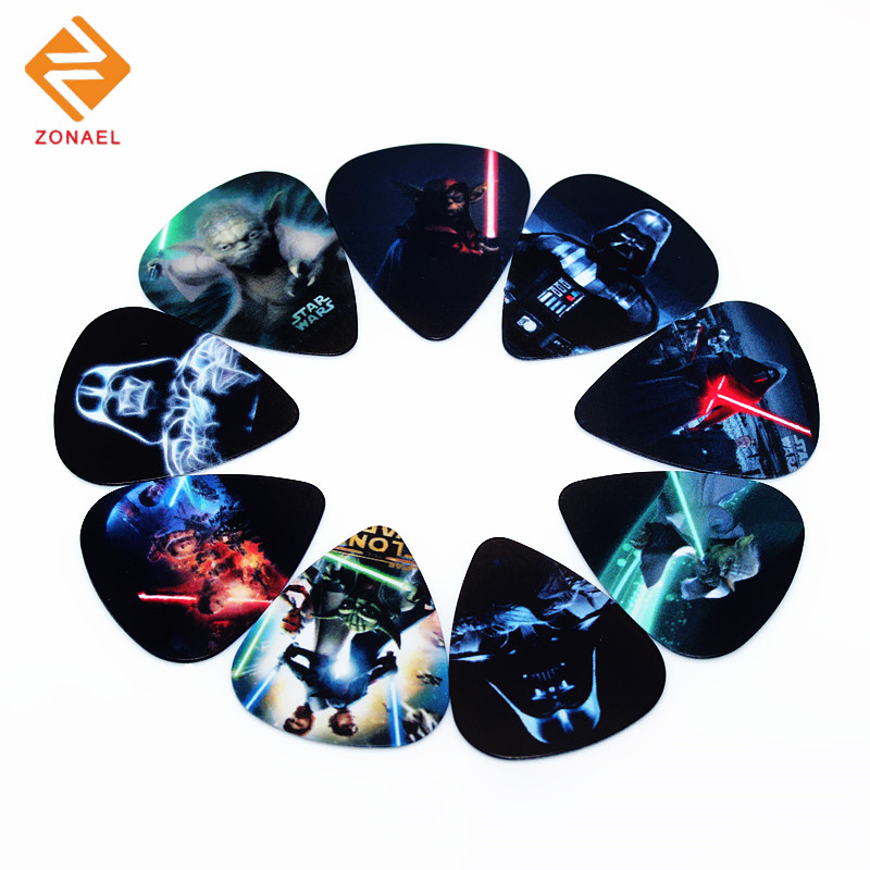 Zonael Hot PICKS 0.71mm/10pcs Guitar Picks Thickness 0.46mm Musical instrument Accessories 1S3-17