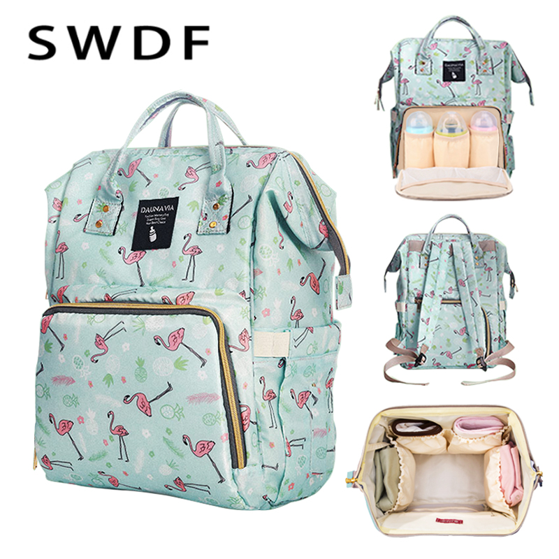 SWDF Multifunction Mummy Maternity Nappy Bag Brand Large Capacity Baby Bag Travel Backpack Designer Nursing Bag for Baby CareSWDF Multifunction Mummy Maternity Nappy Bag Brand Large Capacity Baby Bag Travel Backpack Designer Nursing Bag for Baby Care