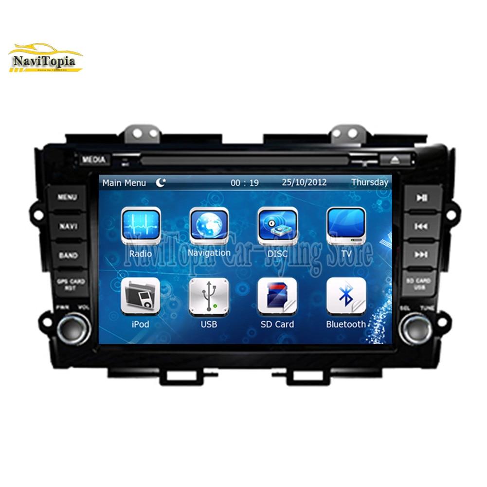 NAVITOPIA GPS Navigation Car DVD Multimedia Player For ...
