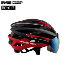 BASECAMP New Bicycle Helmets Sunglasses Cycling Glasses 3 Lens Integrally Molded Men Women Mountain Road Bike Helmets