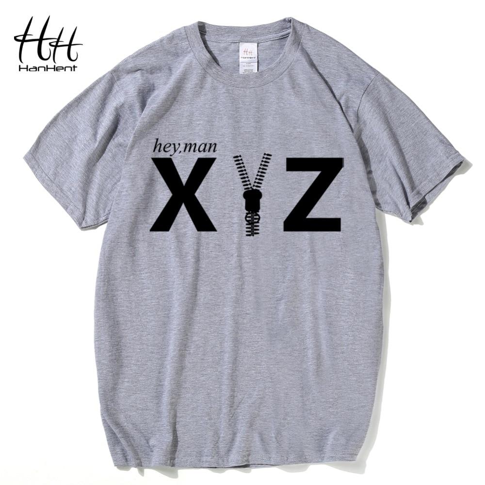 Design t shirt online usa - Hanhent New Design Funny Letter Printed T Shirt Men Short Sleeve Summer T Shirts Man Fashion Streetwear Usa Style Tees Plus Size