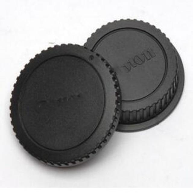 Bouchon arrière de lappareil photo Foleto capuchon dobjectif protection anti-poussière pour Canon Eos Nikon N1 Sony Nex Pentax PK Olympus Micro M4/3 monture Panasonic