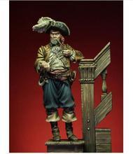 Guerrero antiguo de 1/24 MM con BASE, 75MM, figura de resina en miniatura, kits gk en miniatura sin montar, sin pintar
