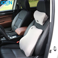 LOEN 1Set Memory Foam Healthcare Lumbar Cushion Back Waist Support Breathable Car Seat Support Home Office Pillows Relieve Pain