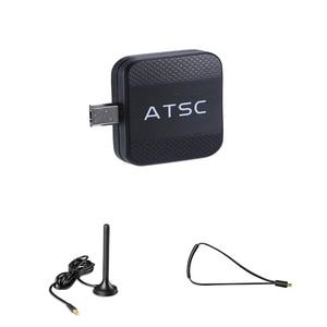 Image 2 - For USA/Mexico/Canada/South Korea Mini ATSC TV Receiver Micro USB Tuner TV Stick On Android Phone Pad Watch ATSC Live TV Dongle