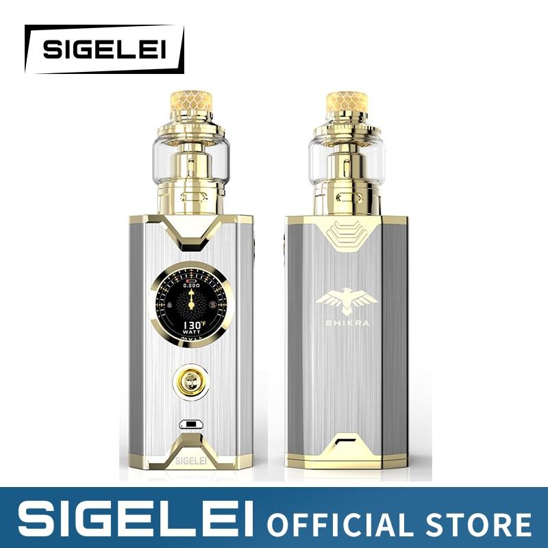 Shikra Kit NEWEST E Electronic cigarrete Vape kit Sigelei super power 10 200w New system design