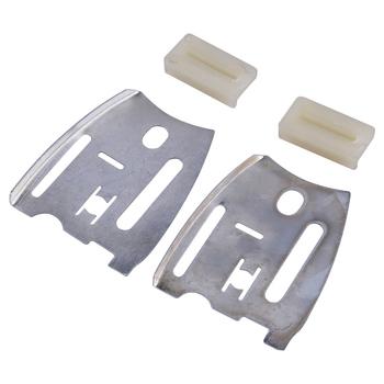 LETAOSK przewodnik płyta mocująca i zderzak zestaw listewek 501814801 nadające się do pilarek HUSQVARNA 61 66 181 266 268 272 281 288 XP piła łańcuchowa części tanie i dobre opinie CN (pochodzenie) Other Energii elektrycznej 501 81 48-01 501 51 72 01 Inne Metal Plastic Silver White Plate 7 3x6cm(L x W) Stripe 3 5x1 8cm(L x W)