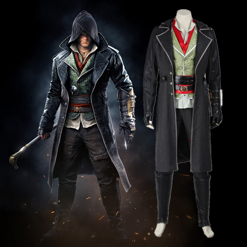 Assassins Creed Cosplay Costume Syndicate Jacob Frye Kostum