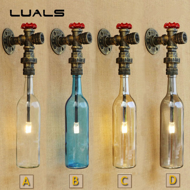 Loft Wall Lamp Nordic Style Vintage Wall Light Cafe Bar LED Wall Lights Personality Simple Industrial Style Art Deco Lighting loft vintage edison glass light ceiling lamp cafe dining bar club aisle t300