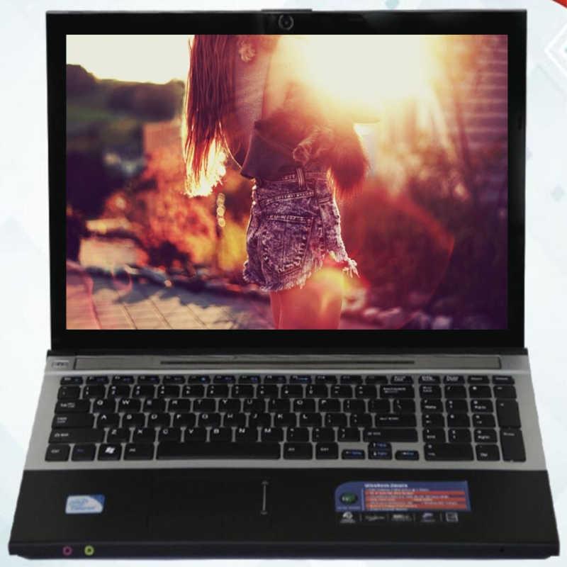 8G RAM 120G SSD 1000 GB HDD 15,6 inch 1920*1080 P Intel Core i7 cpu juego portátil Windows 7/10 Notebook con DVD-RW para oficina en casa