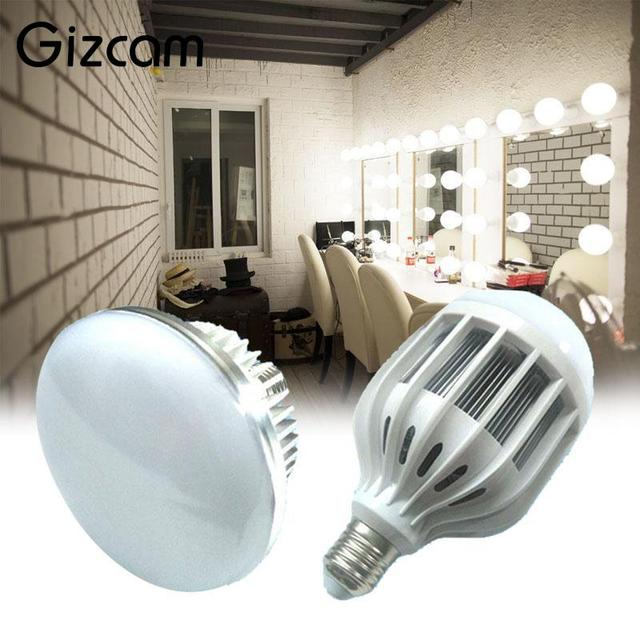 Gizcam E27 Photography Photo 65W 5500K LED Light Bulb Continuous Video Lighting Lamp Professional Photographic