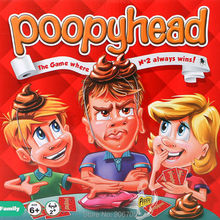Poopyhead Card Game The Game Where Number 2 Always Wins Family Party Fun Gadgets anti stress