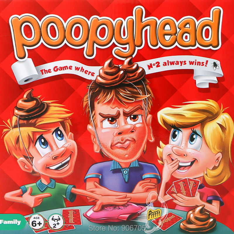 Poopyhead Card Game The Game Where Number 2 Always Wins Family Party Fun font b Gadgets
