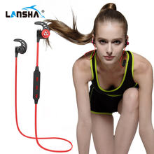Wireless Headphones Bluetooth Headset Sport Running Magnetic Stereo Neckband Earphone With Mic CSR 4.1 For Phone Iphone Samsung
