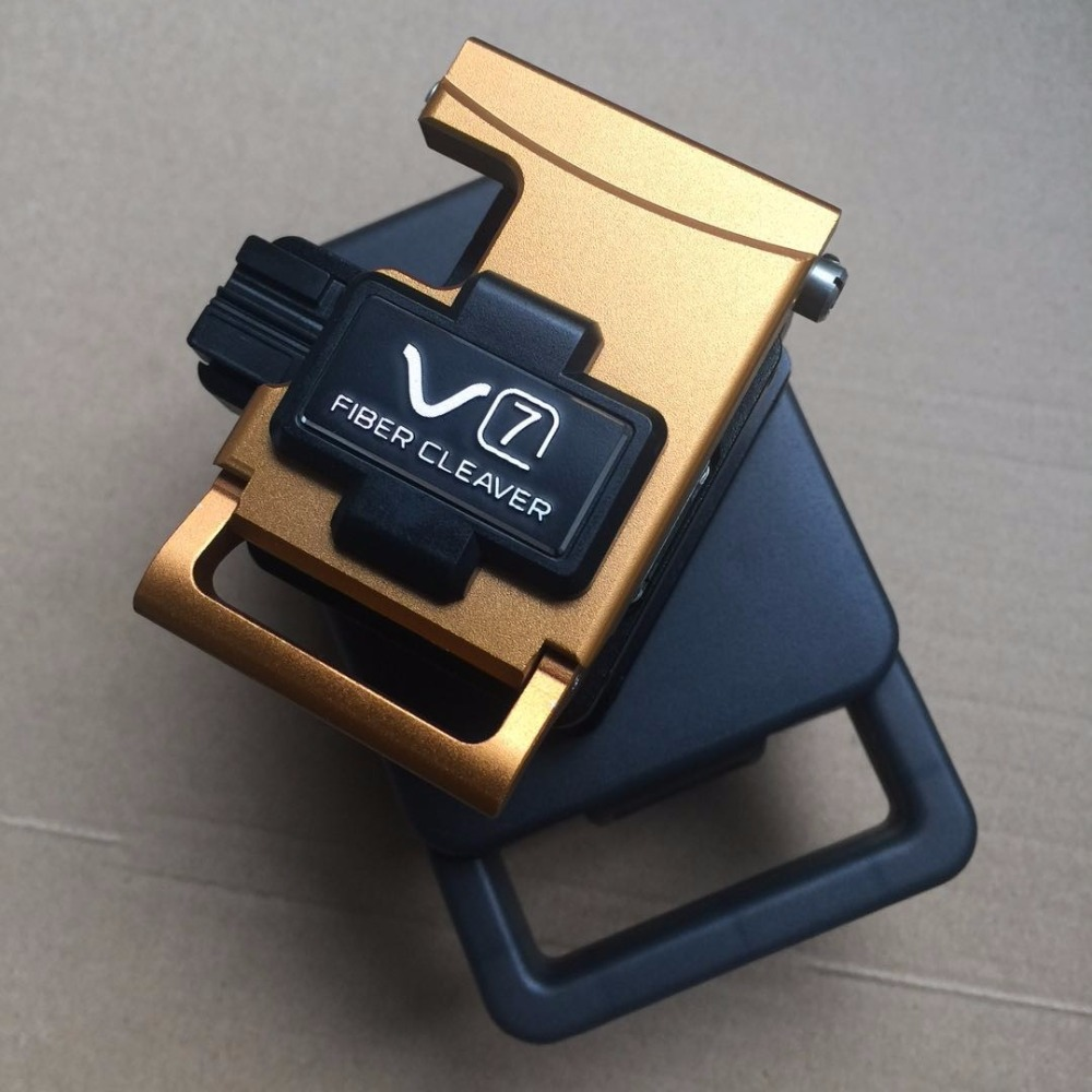 V7 Fiber Optic Cleaver V7 FTTX FTTH Optical Fiber Cleaver Used In Fiber Fusion Splicer With 48000 Fiber Cleaver