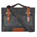 Hot Felt laptop bags for men women shoulder bag notebook 14 cover case for air pro 13 15 inch computer netbook briefcase handbag