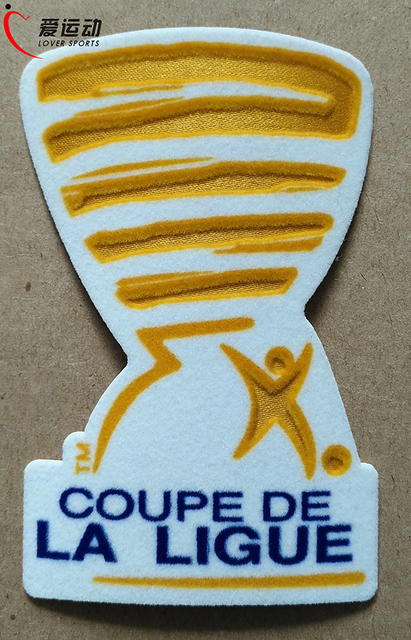 coupe de la ligue patches 2016 2017 patches french league logo psg