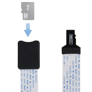Image 2 - 48CM/60CM TF Male to micro SD card Female Flexible Card Extension cable Extender Adapter reader for Car GPS mobile phone