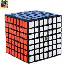 Мою MF классе MF7 кубик рубика Magic Cube 7 Слои s Cube семь Слои черный куб головоломка игрушки для Для детей