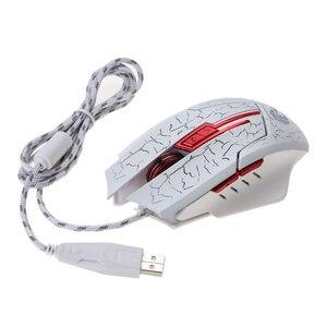 Image 5 - HSXJ H800 renkli oyun fare 5500DPI 7 düğmeler LOL optik USB kablolu bilgisayar profesyonel oyun fareler oyun bilgisayarı için dizüstü bilgisayar