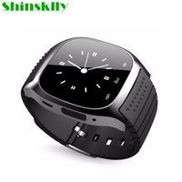 M26 Sport Waterproof Smartwatch Bluetooth Smart Watch With LED Alitmeter Music Player Pedometer For Android Smart Phone Clock