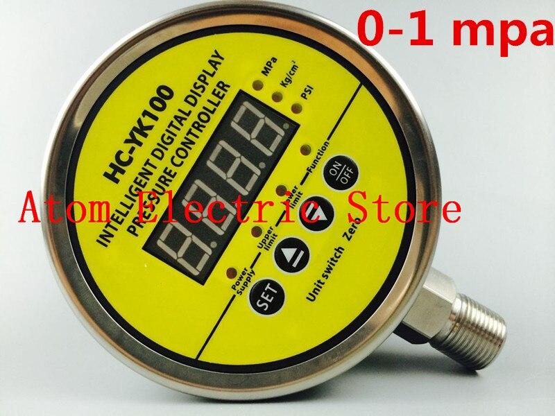 0-1 mpa  AC220V  Digital display electric contact pressure gauge digital controller dmx512 digital display 24ch dmx address controller dc5v 24v each ch max 3a 8 groups rgb controller