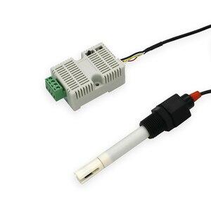 Image 5 - 12 24 V אספקת חשמל 485 ים מים EC משדר TDS חיישן EC מודול 4 20ma Modbus 485 מוליכות EC /TDS חיישן