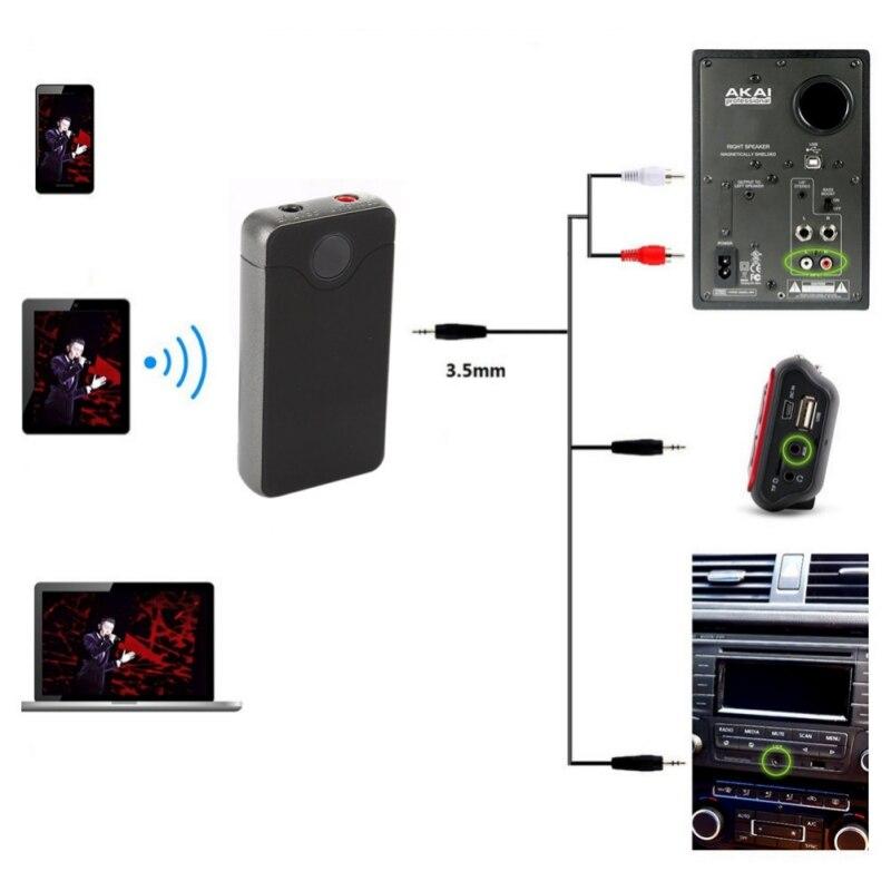 Tragbares Audio & Video Funkadapter Pflichtbewusst 3,5mm Aux Musik 2 In 1 Wireless Adapter Wireless Bluetooth Sender Und Empfänger Audio Rezeptor Für Smartphone Tv Kopfhörer