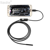 3m 5 5mm Lens Rigid Cable USB Inspection Camera Snake Tube IP67 Waterproof Endoscope With 6