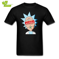 Rick Morty Wubba T Shirt Men S Summer O Neck Graphic Tee Male Latest Big Tops
