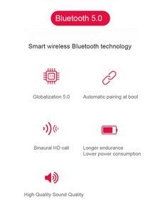 Image 4 - Bluetooth 5,0 Kopfhörer TWS Stereo Drahtlose Kopfhörer Headset Wasserdichte in Ohr Sport Ohrhörer für Samsung galaxy knospen smartphone