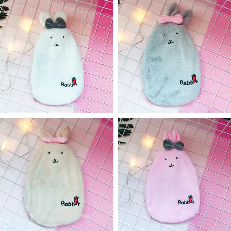 Hello Kitty Reusable Hand Warmer with Knitted Mini Water Bottle Cover Christmas