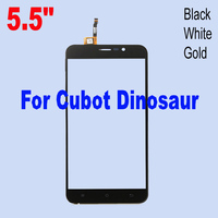 High Quality Tested Working Black White Gold Touch Screen Digitizer For Cubot Dinosaur Cell Phone Panel