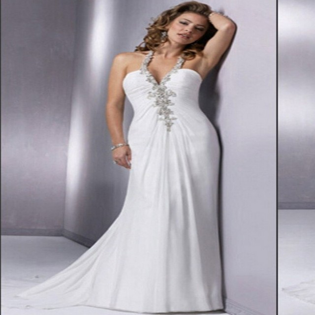 China Wedding Gown Factory Custom Made Cheap Price Sexy Halter Vintage Backless Civil Dress