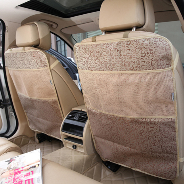 Car Seat Covers Four Seasons Best For Back Seat Protectors Best For Protection From Kid's Dirt /Car Organizer Pocket Kick Mats