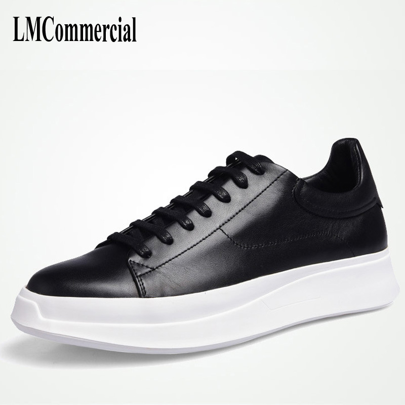 bottom men casual shoes spring and autumn summer 2018 new autumn British retro, men's Genuine leather shoes all-match cowhide baijiami 2017 new children solid breathable slip on pu casual shoes boys and girls spring summer autumn flat bottom shoes