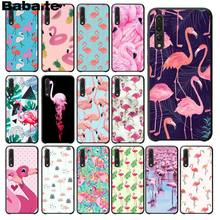 Babaite Flamingo Cute Animals Birds Phone Case for Huawei Mate9 10 Mate10 Lite P9 P10 Plus P20 Pro Honor10 View10 Cellphones(China)