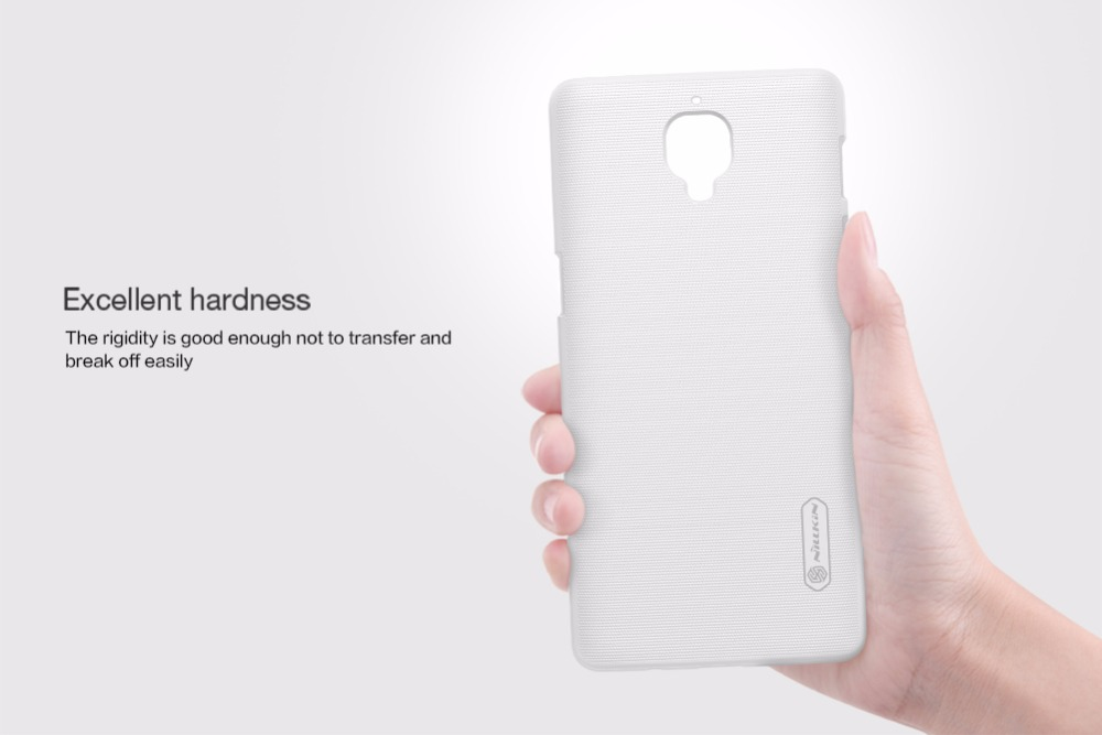 One plus 3 case Oneplus 3 case NILLKIN Super Frosted Shield hard back cover for Oneplus 3 3T 5 T 2
